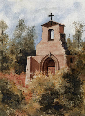 Painting - Ruins Of Morley Church by Sam Sidders