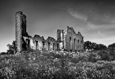 Photograph - Ruins Of Pontotoc Texas by David and Carol Kelly