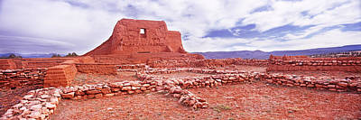 Ancient Civilization Photograph - Ruins Of The Mission, Pecos National by Panoramic Images