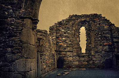 Photograph - Ruins Of The Monastic Walls by Jenny Rainbow