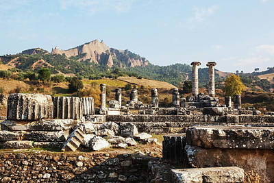 Zeus Photograph - Ruins Of The Temple Of Artemis  Sardis by Reynold Mainse