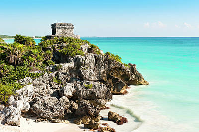Ruins Of Tulum Art Print by Asmithers