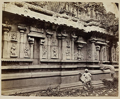 Lyon Photograph - Ruins Of Vijianugcur by British Library