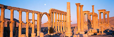 Syria Photograph - Ruins, Palmyra, Syria by Panoramic Images