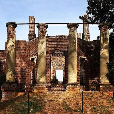 Iphone Photograph - #ruins #virginia #iphone by Terry Rowe