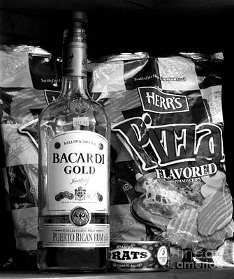 Photograph - Rum And Rats And Pizza Flavored Potato Chips by Renee Trenholm
