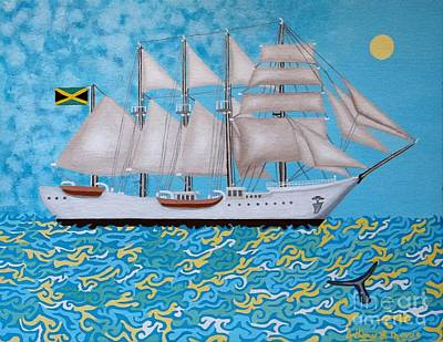 Painting - Rum Runner by Anthony Morris