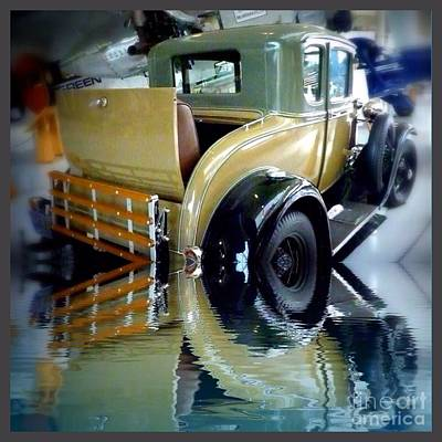 Photograph - Rumble Vintage Reflect  by Susan Garren
