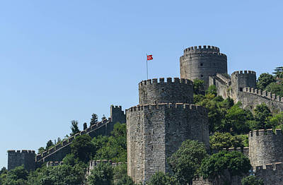 Photograph - Rumelian Castle Along The Bosphorus In Istanbul by Brandon Bourdages