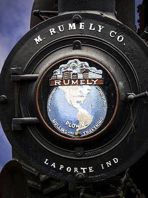 Emerson Digital Art - Rumely Logo Laporte Indiana by F Leblanc