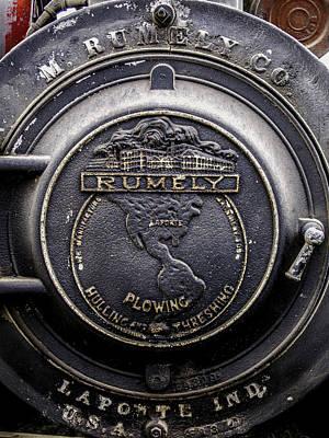 Keck Photograph - Rumely Logo Laporte Indiana V2 by F Leblanc