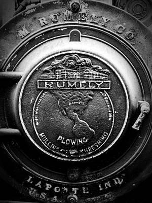 Keck Digital Art - Rumely Logo Laporte Indiana V3 by F Leblanc