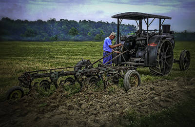Keck Photograph - Rumley And Plow by F Leblanc