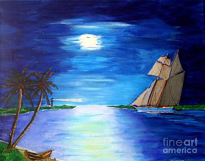 Painting - Rumrunner by Bill Hubbard