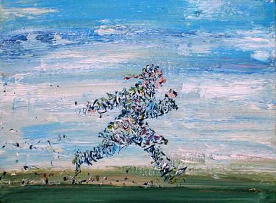 Run Casanova Run Print by Fabrizio Cassetta