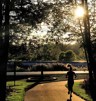 Photograph - Run by Dan Sproul