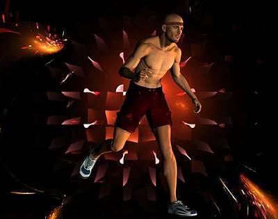Digital Art - Run James Run by Nancy Pauling