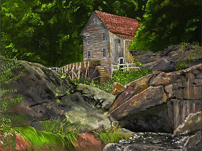 Run Of The Mill Art Print by Leo Gehrtz