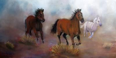 Painting - Run Wild Run Free by Loretta Luglio