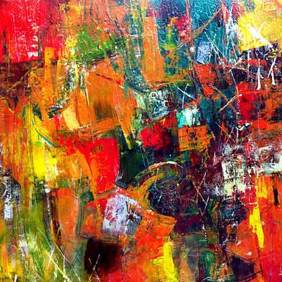 Intense Painting - Runaround by Katie Black
