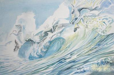 Painting - Runaway Waves by Callie Smith