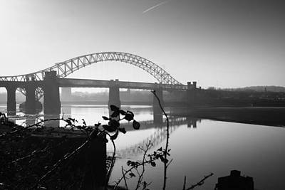 Photograph - Runcorn To Widnes Bridge by Phillip Orr