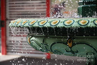 Photograph - Rundle Mall Fountain by Stephen Mitchell