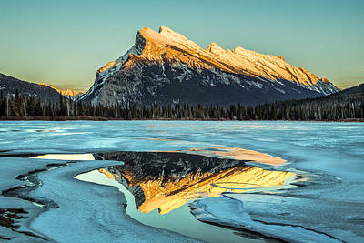 Rundle Reflection Art Print by Levin Rodriguez