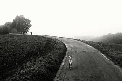 Run Photograph - Runners by Elisabeth Wehrmann