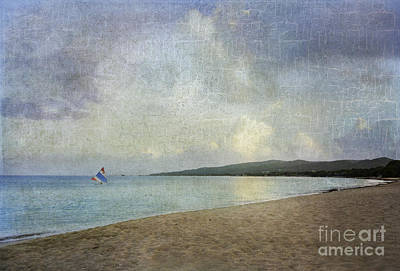 Caribbean Sea Digital Art - Running Before The Wind by Betty LaRue