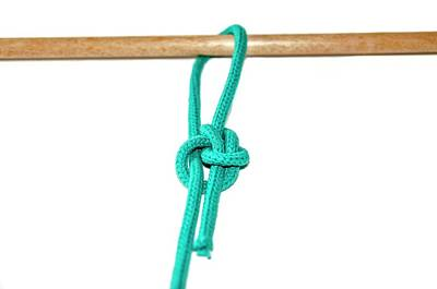Bonding Photograph - Running Bowline Knot by Photostock-israel