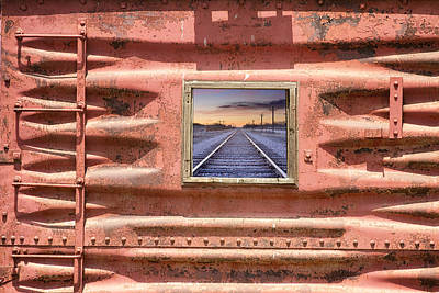 Photograph - Running Down The Line by James BO Insogna