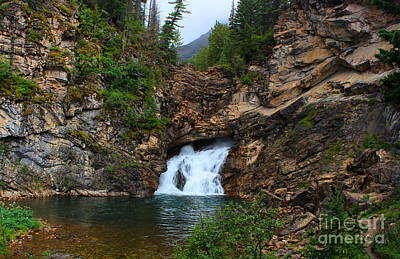 Blackfoot River Photograph - Running Eagle Falls by Kathleen Garman