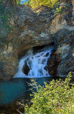 Photograph - Running Eagle Falls  by Robert Bales