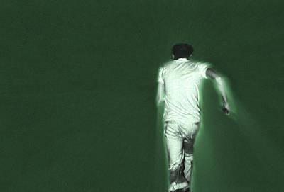 Running In The Green Art Print