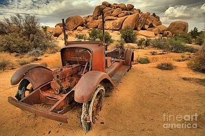 Mining Truck Photograph - Running Low by Adam Jewell
