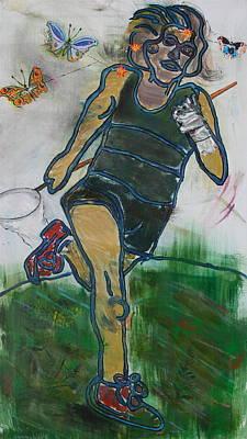 Painting - Running Mind by Dan Koon