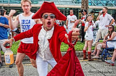Photograph - Running Of The Bulls New Orleans Matador by Kathleen K Parker