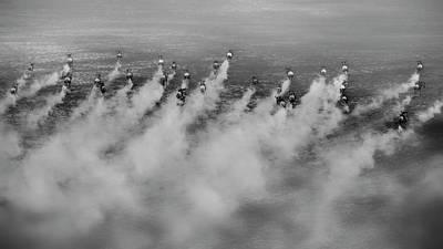 Running Wall Art - Photograph - Running by Phillip Chang