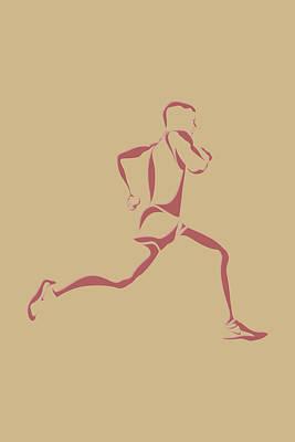 Flying Pig Photograph - Running Runner14 by Joe Hamilton