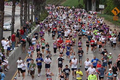 Photograph - Running The Marathon by Nathan Rupert