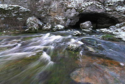 Photograph - Running Water Cave by Dreamland Media