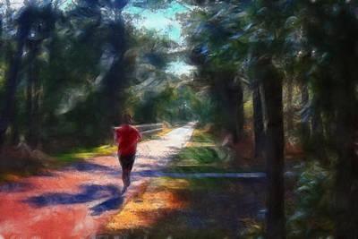 Running Art Print by William Sargent