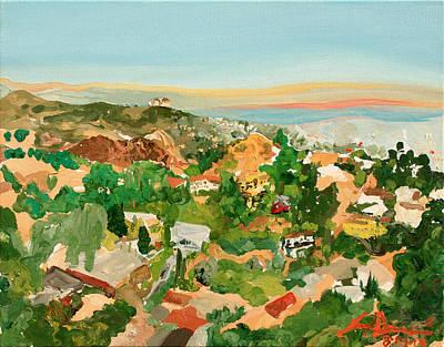 Runyon Canyon Art Print by Joseph Demaree