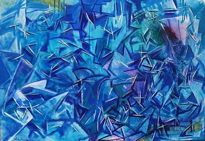 Abstracto Mixed Media - Rupturas by Lola Saavedra