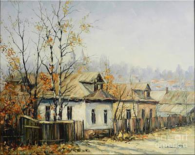 Rural Autumn Art Print