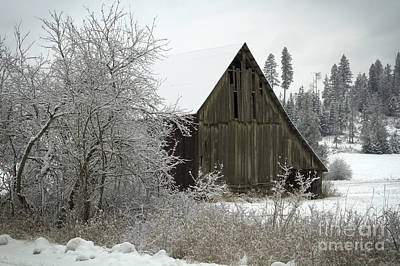 Rural Barn Art Print by Idaho Scenic Images Linda Lantzy