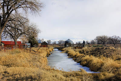 Photograph - Rural Colorado by Marta Alfred