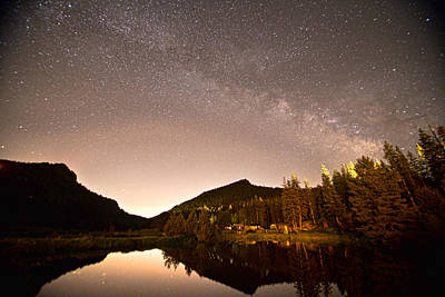 Milky Way Photograph - Rural Colorado Rocky Mountain Milky Way View by James BO  Insogna