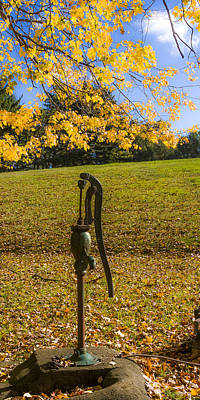 Photograph - Rural Connecticut Autumn by Albert Seger